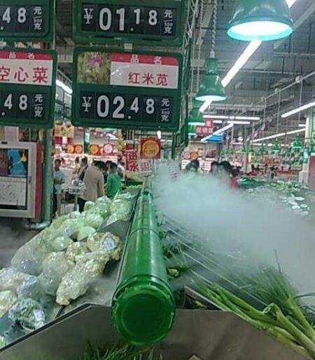 温室大棚种植蔬菜如何控制环境湿度-超声波工业加湿机